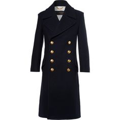 Burberry Double-Breasted Wool And Cashmere-Blend Coat (154.865 RUB) ❤ liked on Polyvore featuring men's fashion, men's clothing, men's outerwear, men's coats, mens wool outerwear, mens double breasted wool coat, mens double breasted coat, burberry mens coat and mens wool coats