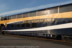 The Rocky Mountaineer is a luxury train that runs on 4 routes in western Canada. Travelling on the train is outstanding for wildlife and travel photography.