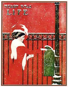 Life Magazine cover by Coles Phillips, 1909