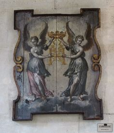 FARRAGOZ: Finding Patina in Paris Museums ~ Carnavalet- One of the first things that caught my eye, was this angel plaque. Students of the FARRAGOZ Online Course will recognise it as the inspiration for Module 3.