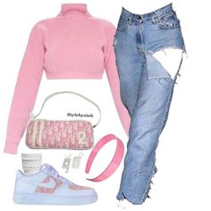 how to style outfits 2000s Fashion, Teen Fashion Outfits, Kpop Outfits, Swag Outfits, Mode Outfits, Retro Outfits, Cute Fashion, Trendy Outfits, Girl Outfits