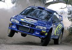 scooby doin it large. Subaru Rally, Subaru Impreza Wrc, Rally Car, Nascar, Rallye Wrc, Colin Mcrae, Street Racing Cars, Drifting Cars, Top Cars