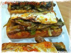 Pintxo del lunes: Tosta de sardinas y cebolleta caramelizada al Pedro Ximenez #food #tapas #pintxo