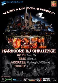 0251 Hardcore DJ Challenge 21 maart 2014 Beverwijk