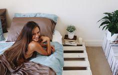 #breakfast #breakfastinbed #sleep #bed #duvet #organicbedding #ethicalproducts #homeinspo #homedecor #bedroomideas
