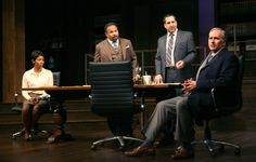 Race @ The Goodman Theater Chicago - This was such an amazing show and it was the first David Mamet play that i've seen.