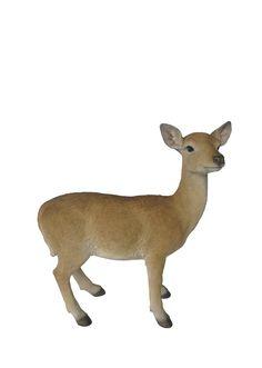 Young Deer Garden Statue - Medium