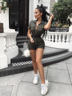 Channeling my inner Lara Croft 🐊 Outfit from Lara Croft Outfit, Boujee Outfits, Trendy Outfits, Summer Outfits, Fashion Outfits, Womens Fashion, Zara Outfit, Mode Lookbook, Fashion Lookbook