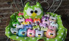Souvenirs Buho Nacimiento, 15 Años, Baby Shower Hermosos!! - $ 35,00