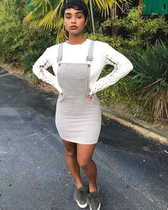 The sun came back out ☺️ Cool Outfits, Fashion Outfits, Womens Fashion, Dress Up, Bodycon Dress, Jumper Dress, Pelo Natural, Pretty Black Girls, Black Girl Fashion
