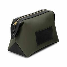 Fancy - Olive Wash Bag by North and Sparrow Mens Pouch, Tote Bags, Leather Bags Handmade, Small Leather Goods, Wash Bags, Leather Pouch, Toiletry Bag, Leather Accessories, Small Bags