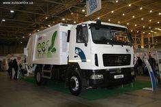 «Супермаркет грузовой автотехники Автек» презентовал на базе грузовиков Ford Cargo и МАЗ мусоровозы известного турецкого производителя Hidro-Mak.