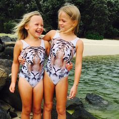 Still loving our tiger swimmers these two hold a special place in my heart one my daughter the other my niece  Tiger swimwear size 1-2 to 6-7 $25  #rainbowsandrascals #sass #tiger #girls #girlsboutique #girlswithstyle #girlswithswagger #swimwear #girlsswimwear #tigerswimwear #hipster #hipsterchick #hipsterfashion #igkids #igfashion #girlsstyle #summertime #summerstock #availablenow #rockingthebeach #rockinthepool #gorgeousgirl #smiles #summerdays #family #currumbinbeach #waterbabies…