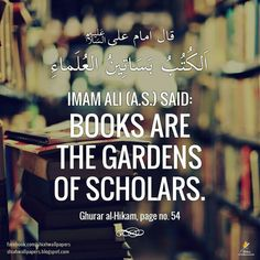 Knowledge and Scholars.