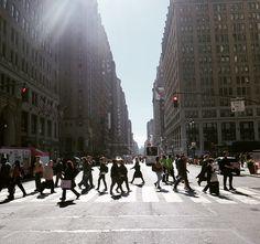 NYC #7thave #newyorkcity #ilovenyc photo by Maria Bjornsdotter