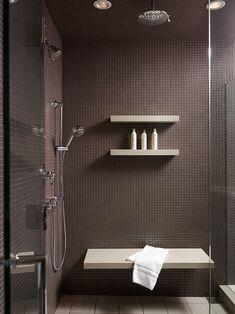 Shower shampoo holder bathroom contemporary amazing ideas with glass shower door shower shelves