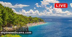 View over Paradise Beach Live Cams, Croatia, Paradise, Beach, Travel, Ideas, Viajes, The Beach, Beaches