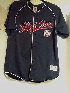 Youth Boston Red Sox Jersey Xl 14/16 Genuine Merchandise True Fan #TrueFanGenuineMerchandise