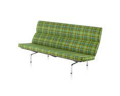 Eames Sofa Compact. Creado para la comodidad de diversas generaciones, un clásico que no pasa de moda! #MoberIdeas
