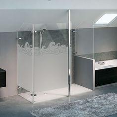 1000 images about paroi de douche on pinterest stickers arabesque and film - Paroi de douche vitree ...