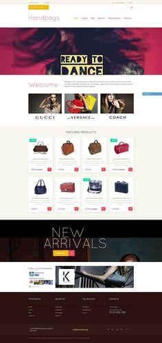 18+ Beautiful Ladies Fashion, Clothing & Accessories Shopify Themes - Handbag Store