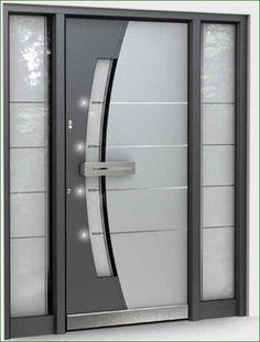 Entrance doors Velbert - VABA entrance doors and awnings - Ideen rund ums Haus - Door Design Main Entrance Door Design, Wooden Main Door Design, Double Door Design, Front Door Design, House Entrance, Entrance Doors, Entrance Ideas, Door Ideas, Bedroom Door Design