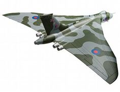 """The Corgi Avro Vulcan B2 XH558 """"Vulcan to the Sky"""" Return to Flight, October 2007 is a diecast model plane in the Corgi Aviation Archive (Limited Edition) range."""