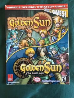 Golden Sun & Golden Sun: The lost Age Prima's Official Strategy Guide - http://video-games.goshoppins.com/video-game-strategy-guides-cheats/golden-sun-golden-sun-the-lost-age-primas-official-strategy-guide/