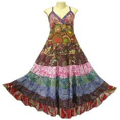 "Hippie Clothes...I feel like this would sit in my closet until, one morning, I sit up in bed and say, ""I think I'm gonna wear that dress today."""