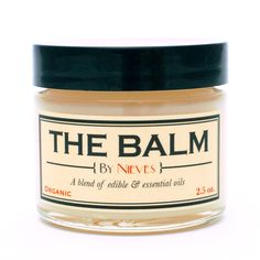 The Balm by Nieves An all-over body moisturizer made with all-natural ingredients.
