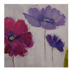 cuadros flores moradas - Buscar con Google