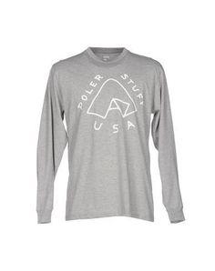 POLER Men's T-shirt Light grey XL INT