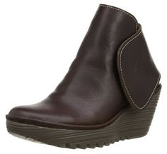 LIGHTNING DEAL Fly London Womens Yogi Rug Leather Boots SAVE up to 44% NOW from £52.99