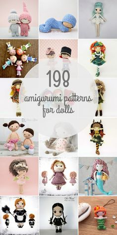 Amigurumi Patterns For Dolls