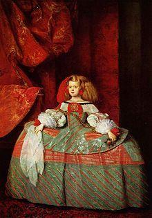 Diego Velázquez, Infanta Margarita da Áustria, Museu do Prado, Madrid.