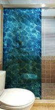 Alta Qualidade de Vidro Adesivos 3D Oceano Adesivo Casa Decoração Removível Adesivo Filme de Janela de Vidro(China (Mainland))