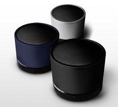 Brand New iriver Sound Drum Bluetooth Speaker, 3 colors