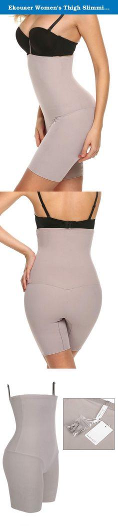 451a7eeb7ac938 Ekouaer Women's Thigh Slimming Shapewear Slimmer Underwear Shaping  Panties,Nude,Large. Ekouaer Women's