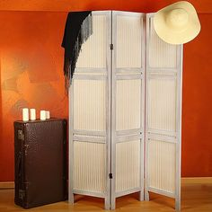 3-Panel Room Divider Folding Screen Shabby Chic Privacy Screen Dividing Wall Melko http://www.amazon.co.uk/dp/B00L91GMRE/ref=cm_sw_r_pi_dp_nKv5tb02W6J0C