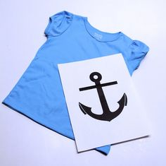 Freezer paper t-shirt. These are so simple! I want to make one for every child I know!