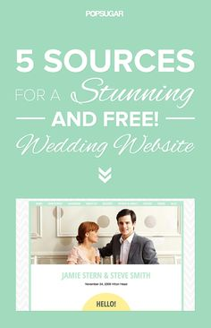 Sicker than your average! How to create a wedding website that STUNS.