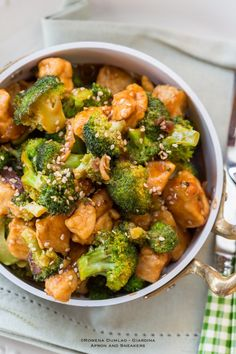 Chicken and Broccoli Stir-Fry