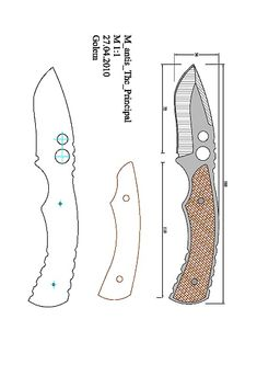 pevne — OneDrive Chef Knife Set, Knife Sets, Knife Drawing, Knife Template, Knife Patterns, Diy Knife, Plumbing Tools, Throwing Knives, Patent Drawing