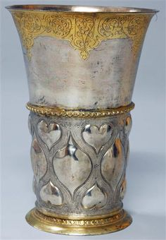 Cup by Unknown Master, Strasbourg, 2 Half 16./Anfang 17th Century