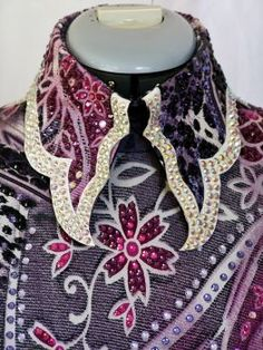 Check out the collar - love this!    I don't like blingy show clothes, but the shape of the collar is way cool!!!
