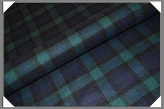Black Watch Tartan Fabric - Click Image to Close