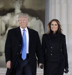 President-Elect Donald Trump & First Lady Melania Trump At The Make America Great Again Welcome Celebration Concert