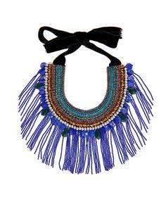 Crystal and bead-embellished necklace | Etro | MATCHESFASHION.COM UK