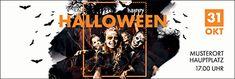 Erstellen Sie individuelle Werbebanner für Ihre Halloween-Party #werbebanner #werbeplane #advertising #banner #halloween #schaurig #gruselig #vorlagen #trickortreat #kids #happyhalloween Happy Halloween, Halloween Party, Creepy, Scary, Advertising, Movie Posters, Promotional Banners, Pattern Drafting, Templates