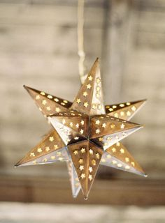 Star Light. I love these lights. I have one with multi-colored stones it in but want a big one to hang from the ceiling